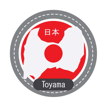 Toyama map