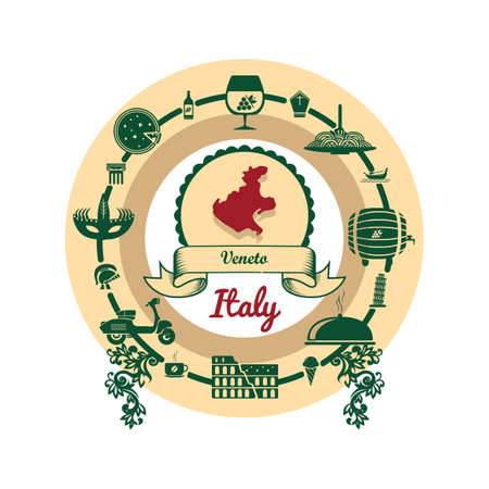 veneto map label