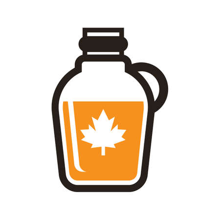 A maple syrup illustration.