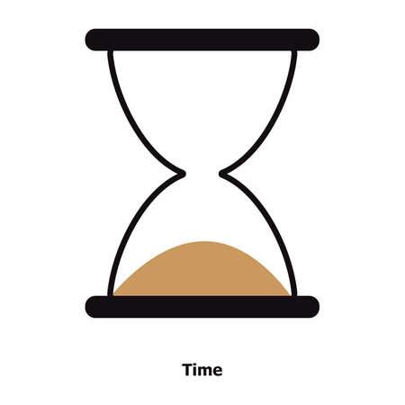 모래 시계 일러스트