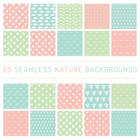 chick: A seamless nature backgrounds illustration. Illustration