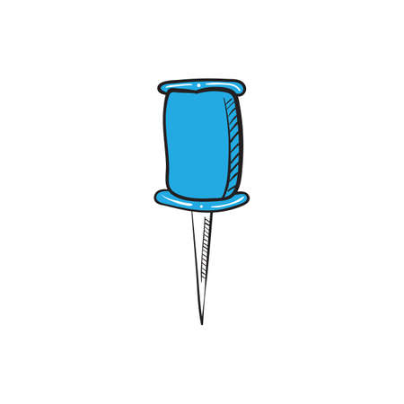 push pin icon Illustration