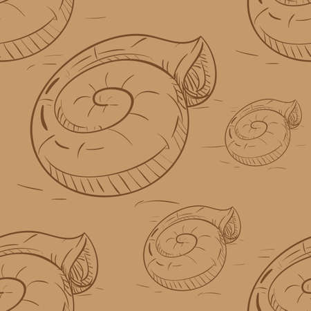 snail pattern background
