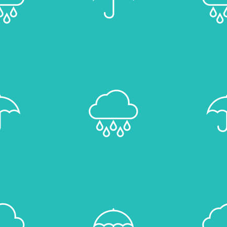seamless rainy pattern background Фото со стока - 106668176