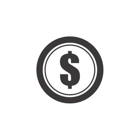 dollar coin Ilustracja