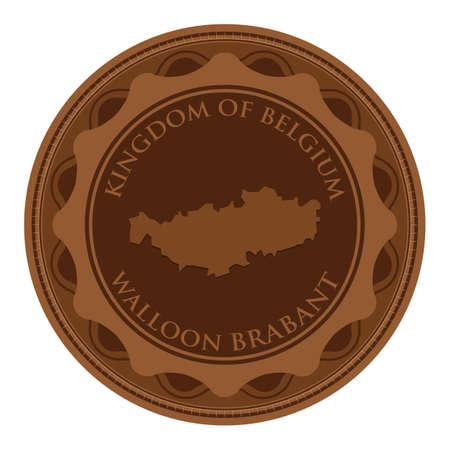 walloon: Walloon brabant map