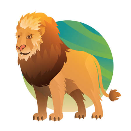 lion Иллюстрация