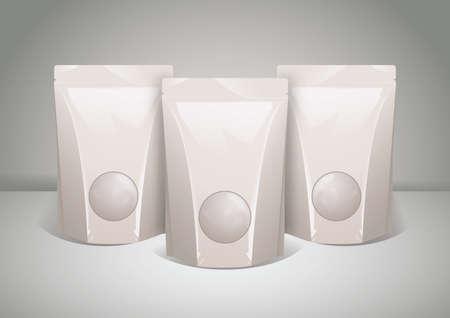 plastic pack Ilustração