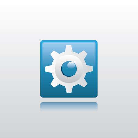 settings icon Ilustracja