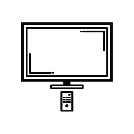 monitor with remote control