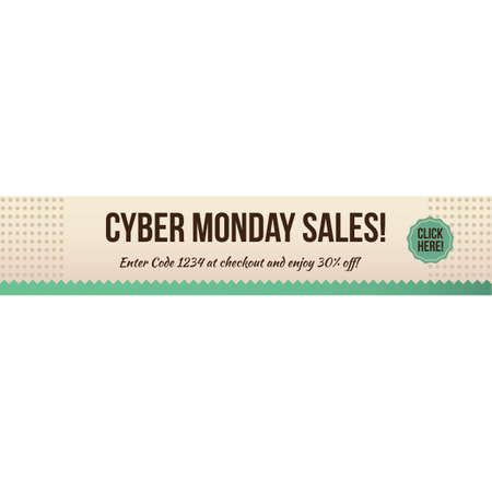 cyber monday sale Banque d'images - 106668281