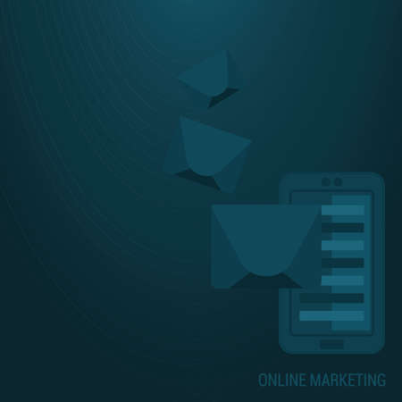 online marketing background