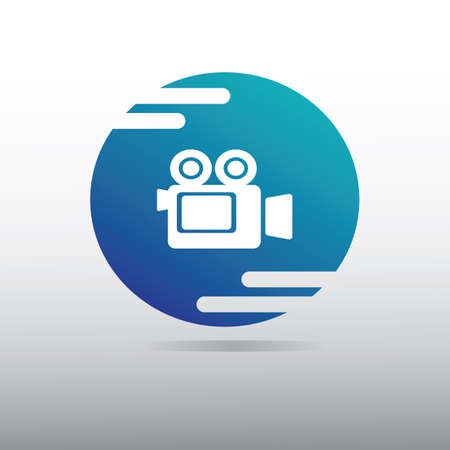 media player icon Illustration