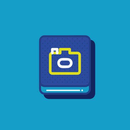 camera icon Stock fotó - 81484497