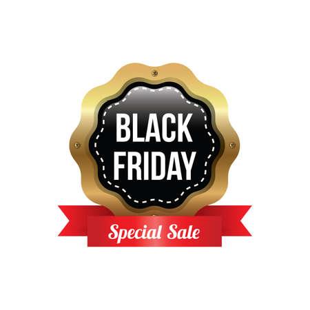 black friday sale label