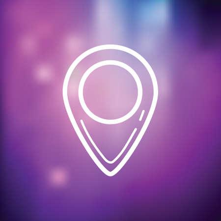 navigation icon 矢量图像