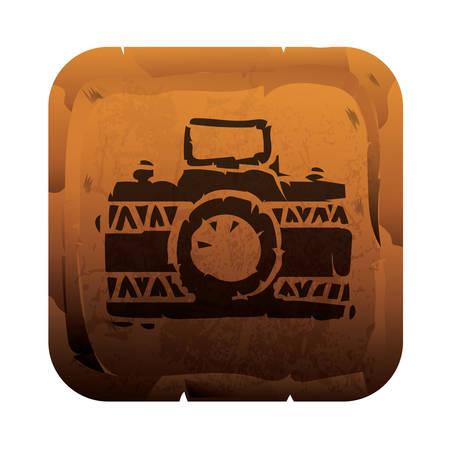 camera icon Foto de archivo - 106668356