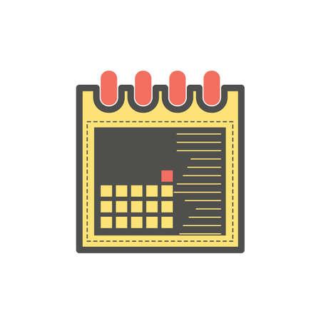 calendar Stock Illustratie