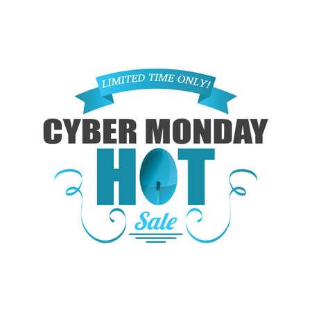 cyber monday sale wallpaper Ilustrace