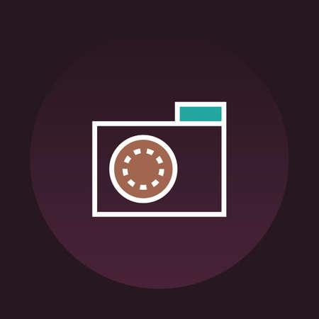 camera icon Banco de Imagens - 106668378