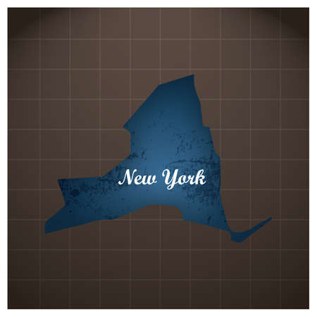 new york state map Stock fotó - 81484313