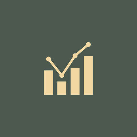 growth analysis Иллюстрация