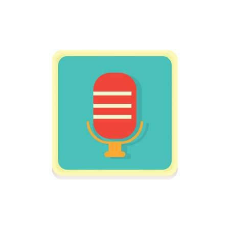 Voice recorder icoon