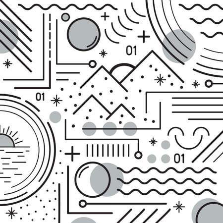 abstract design 向量圖像
