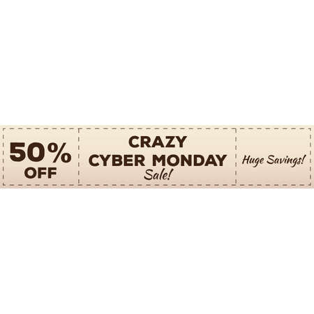 vendita di cyber lunedì Vettoriali