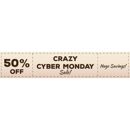 vente cyber lundi Vecteurs