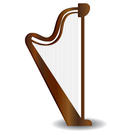 harp Foto de archivo - 106668436