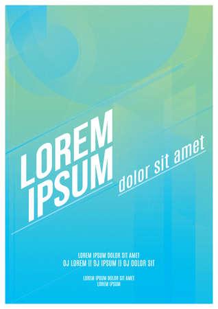 背景のポスター