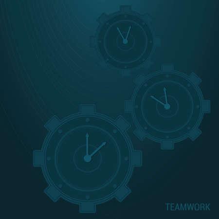teamwerk achtergrond