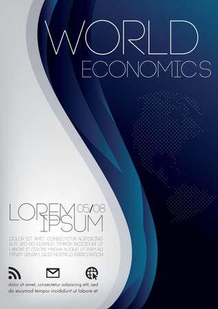 世界経済のポスター