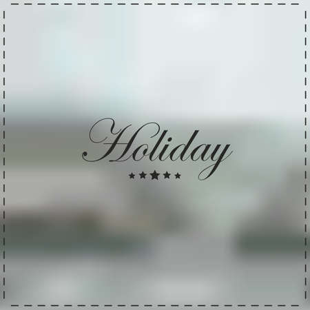 holiday background 向量圖像