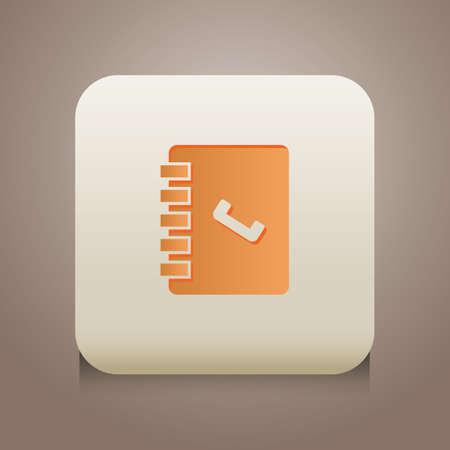 contact book icon Ilustração
