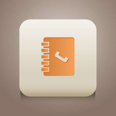 contact book icon Illustration