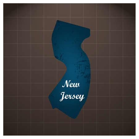 ニュージャージー州地図