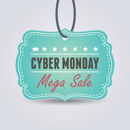 cyber monday sale tag 写真素材 - 106668528