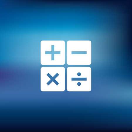 berekening pictogram Vector Illustratie
