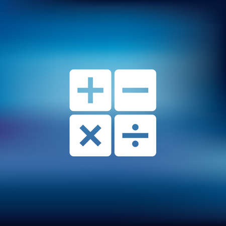 calculation icon Иллюстрация