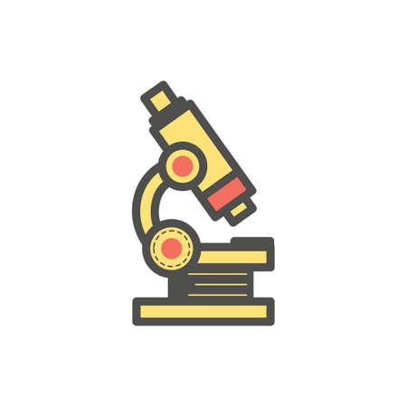 Mikroskop Vektorgrafik