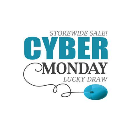 cyber monday sale wallpaper Illustration