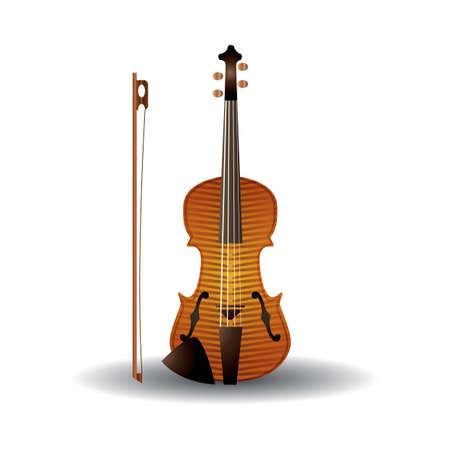 violino Vettoriali