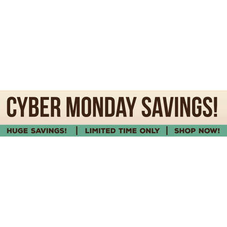 cyber monday sale Stock Vector - 106668594