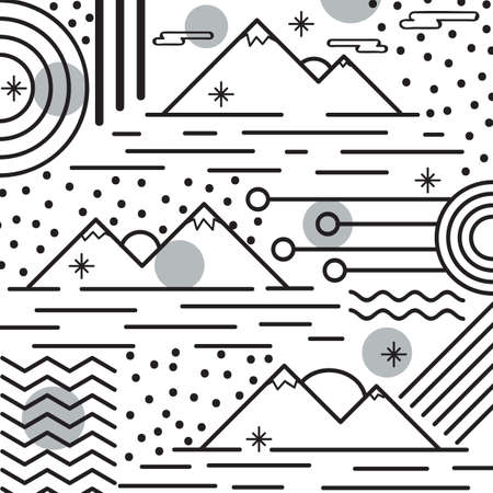 abstract ontwerp