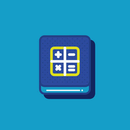 calculation icon Illustration