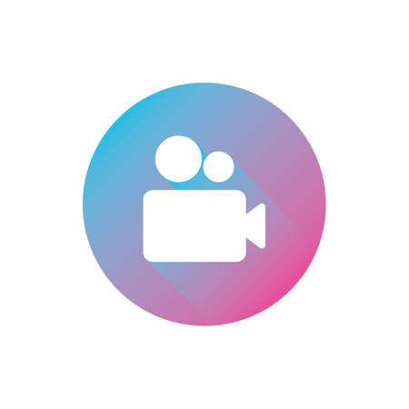media player icon Illustration