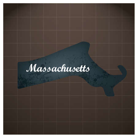 Massachusetts State Map
