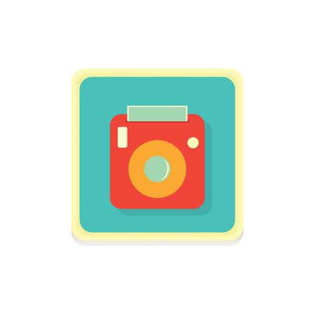 camera icon Stock fotó - 81484493